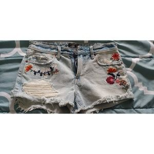 abercrombie & fitch Harper Low Rise Shorts